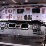 Dashboard for space shuttles