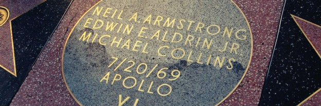 Apollo 11's Walk of Fame plaque