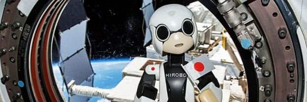 Kirobo on the ISS